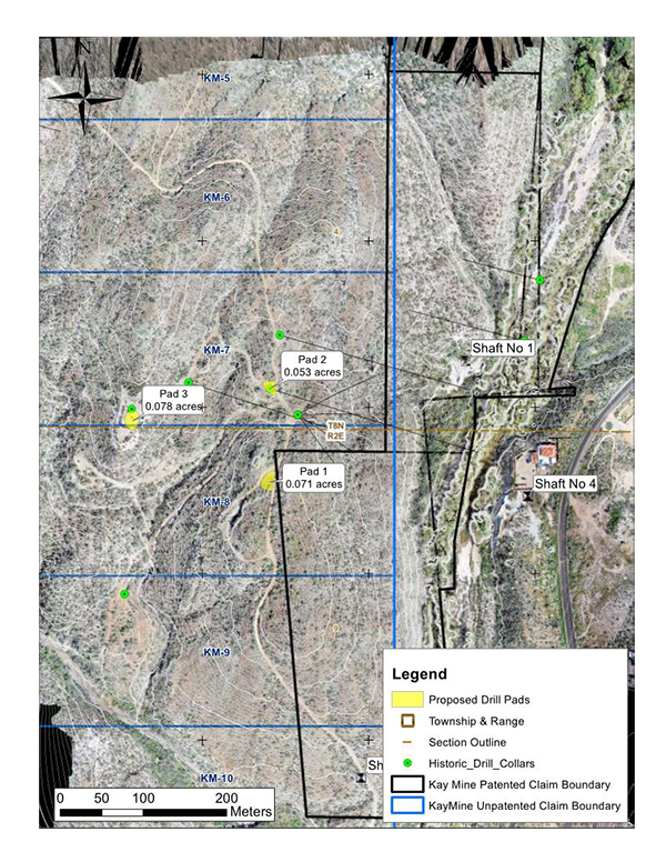 Proposed Kay Mine Phase I Drill Program Image 1